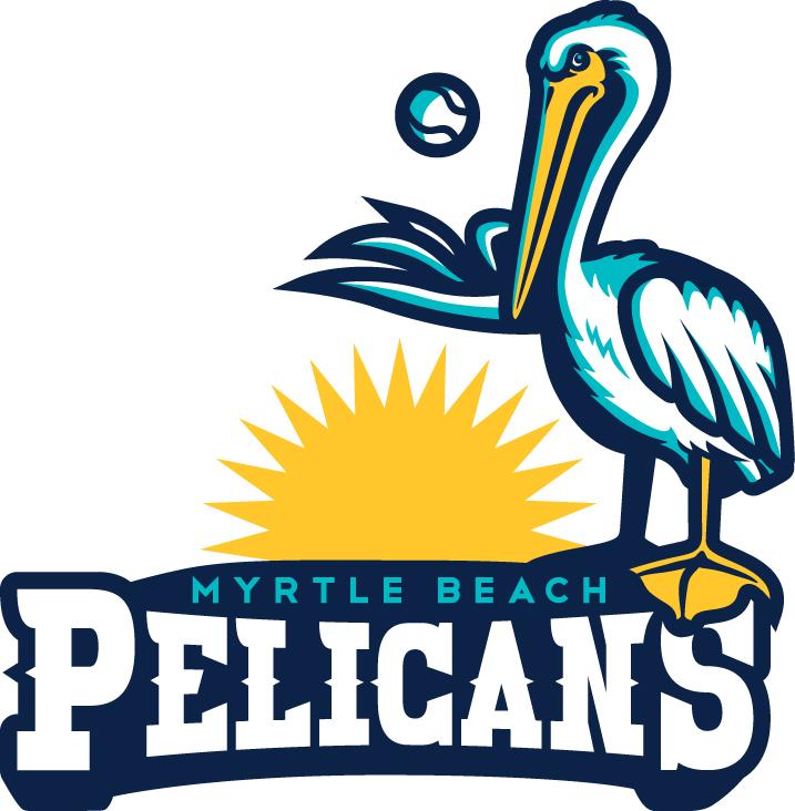 Update Myrtle Beach Pelicans Logo Redesign Concepts Chris Clip Art Library