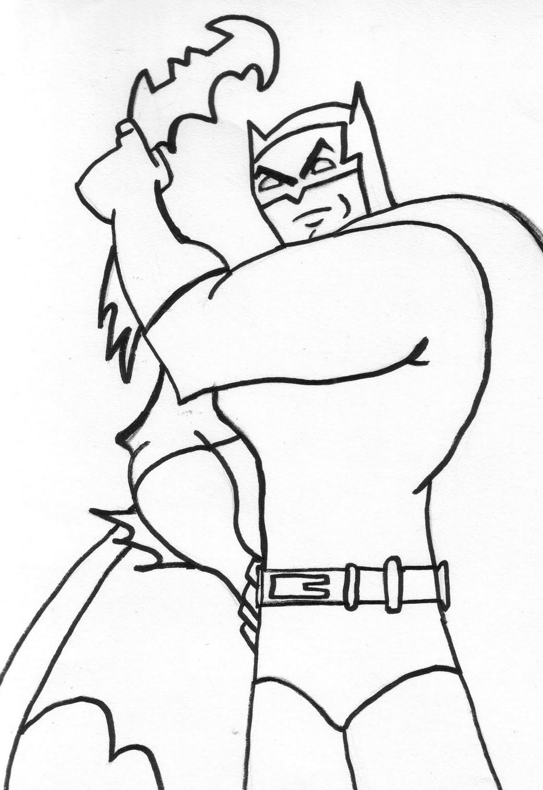 clip art batman coloring pages - photo#12