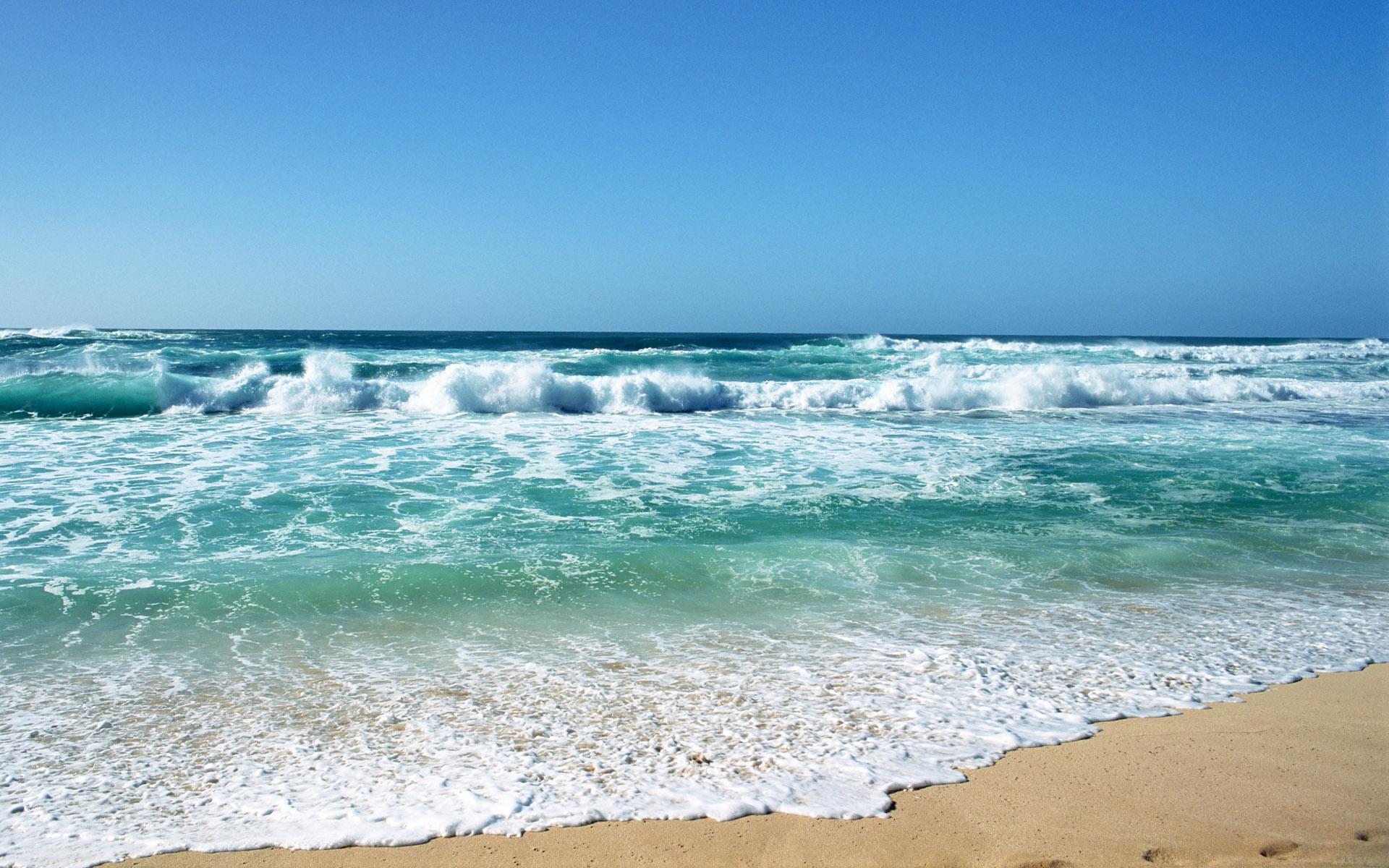 Beach Waves Wallpapers Hd N