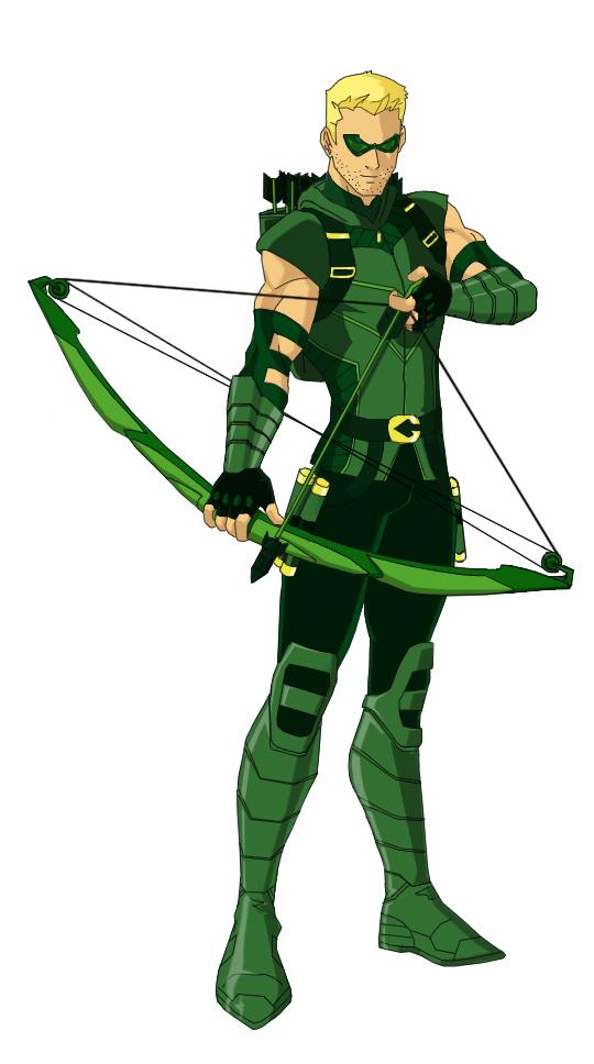 Green Arrow Cartoon