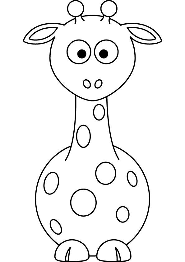 Free Giraffe Cartoon Pictures Cute