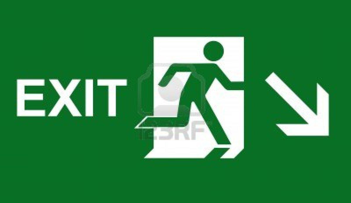 10608569emergencyexitsignjpg Emergency Exit Signs