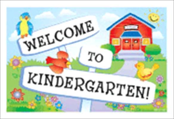 8TzrEEXGc - Welcome To Kindergarten Clipart