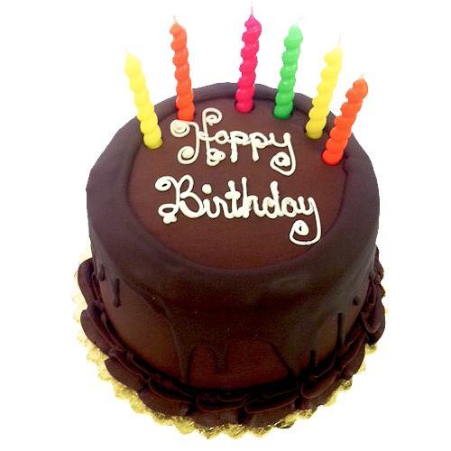 Happy Birthday 6 Prize Winning Chocolate Layer Cake
