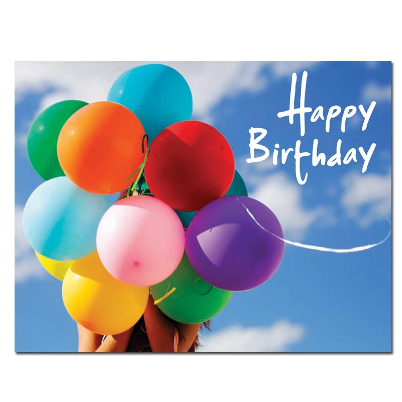 Birthday postcard sky balloons - Happy birthday balloon images hd ...