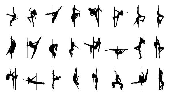Free Pole Dance Silhouette Download Free Clip Art Free