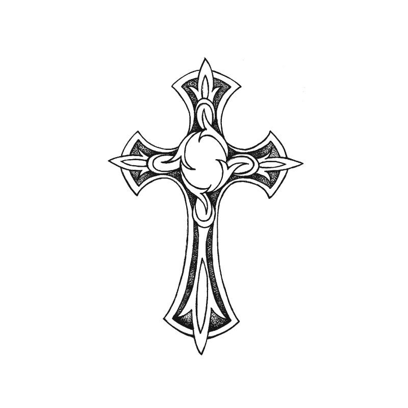 картинки для тату на руке крест
