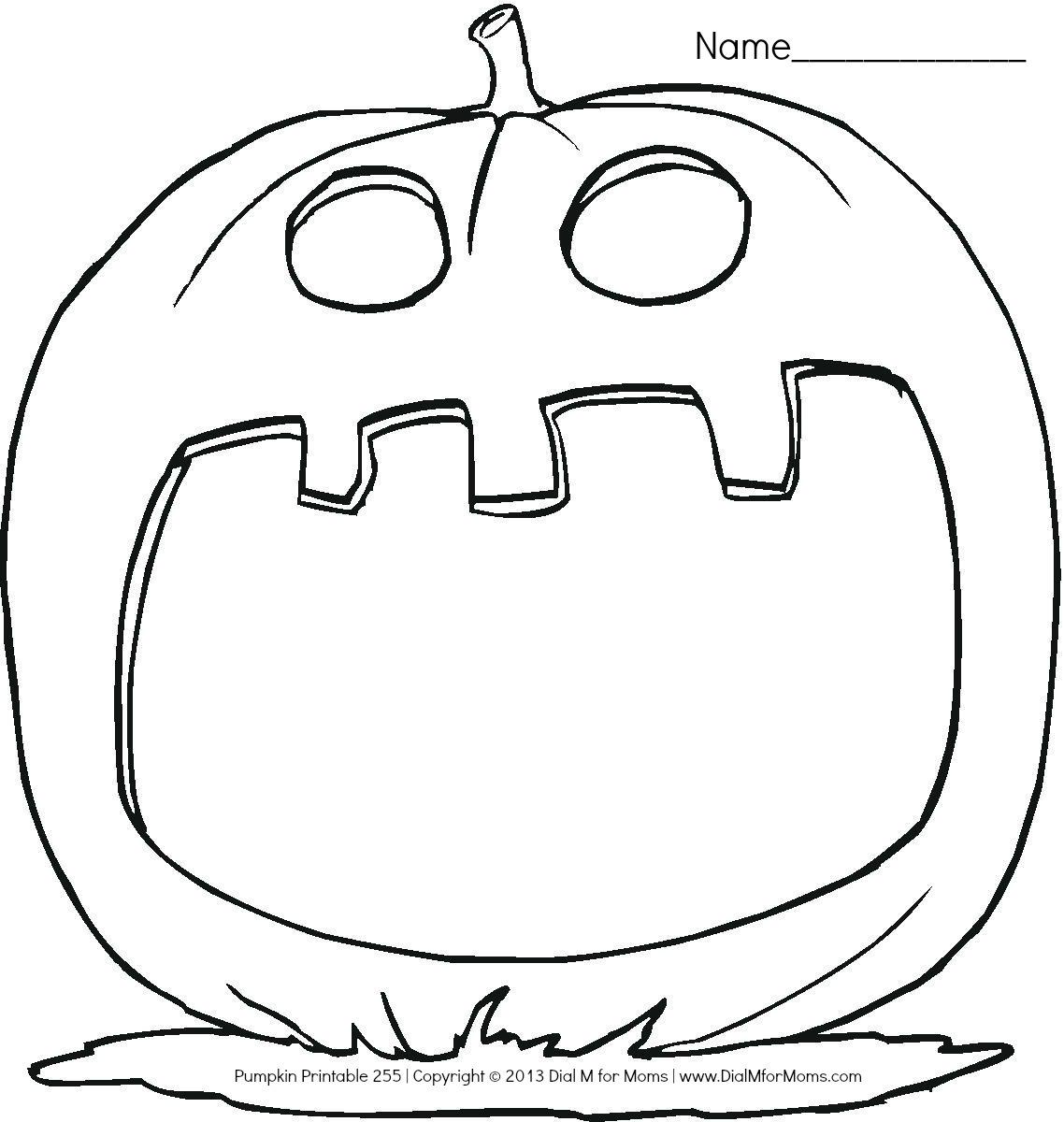 Free Pumpkin Line Drawing, Download Free Clip Art, Free Clip Art on ...