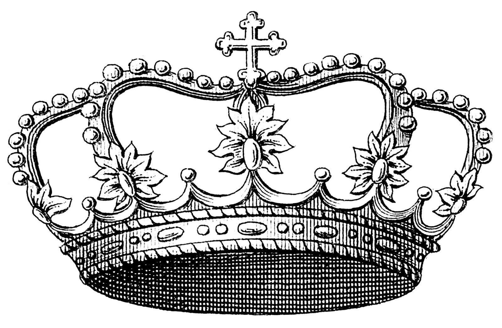 Queen Crown Sketch