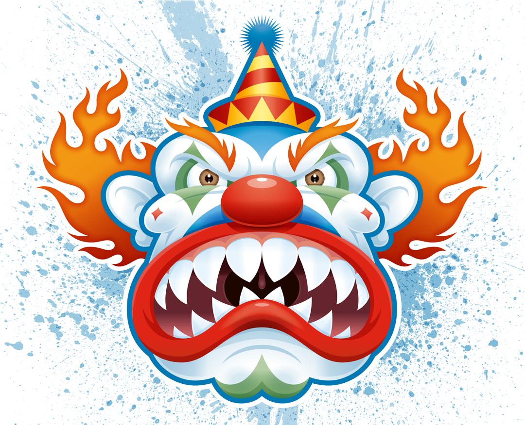 Free Scary Clown Cartoon Download Free Clip Art Free