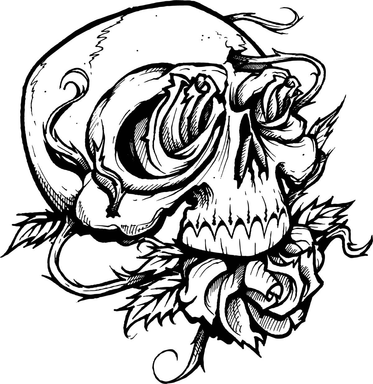 Calavera Tattoo Flash free free skull tattoo designs, download free clip art, free