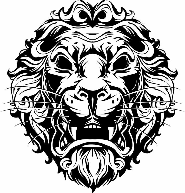 Jpg To Line Art Converter Free Download : Free lion graphics download clip art
