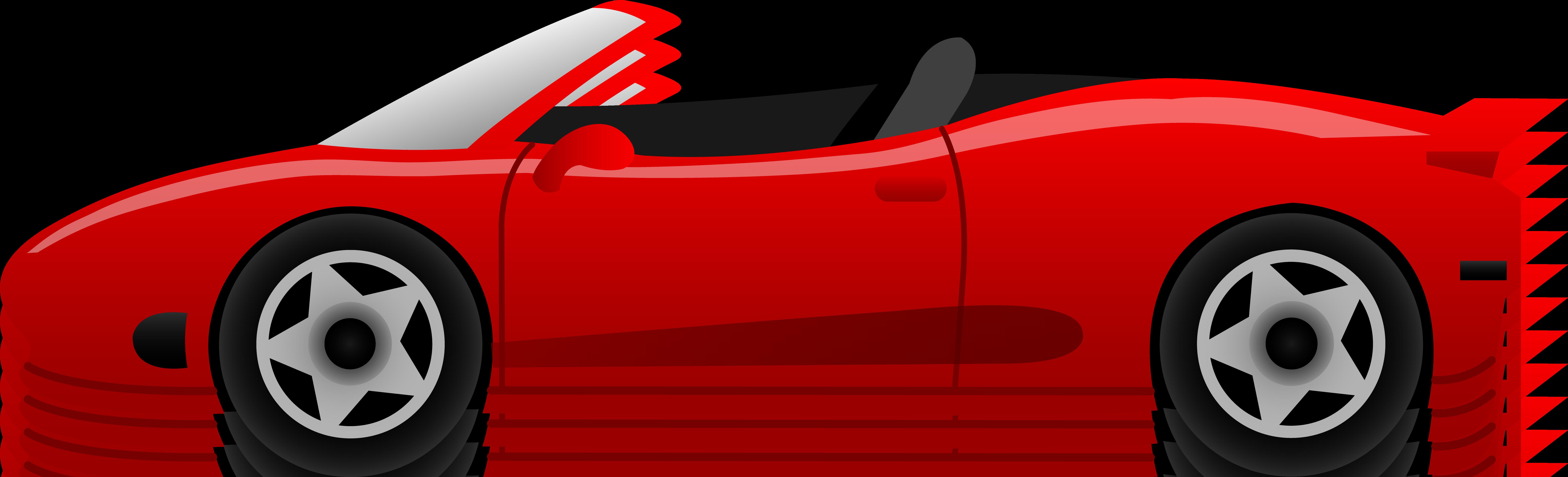 Red Ferrari Car - Fr