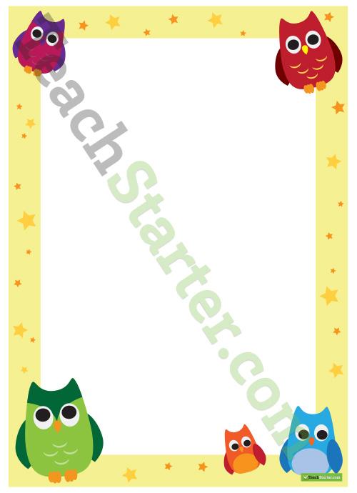 Baby Room Wallpaper Borders Free Owl Borders, Down...