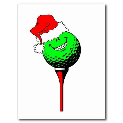 Funny Christmas Golf Cards, Funny Christmas Golf Card ...