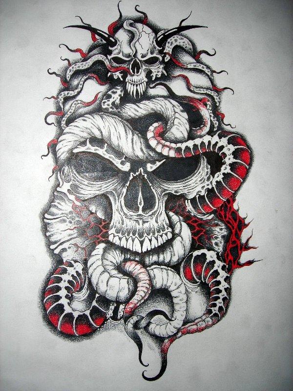 Free Skull Tattoo Design Download Free Clip Art Free