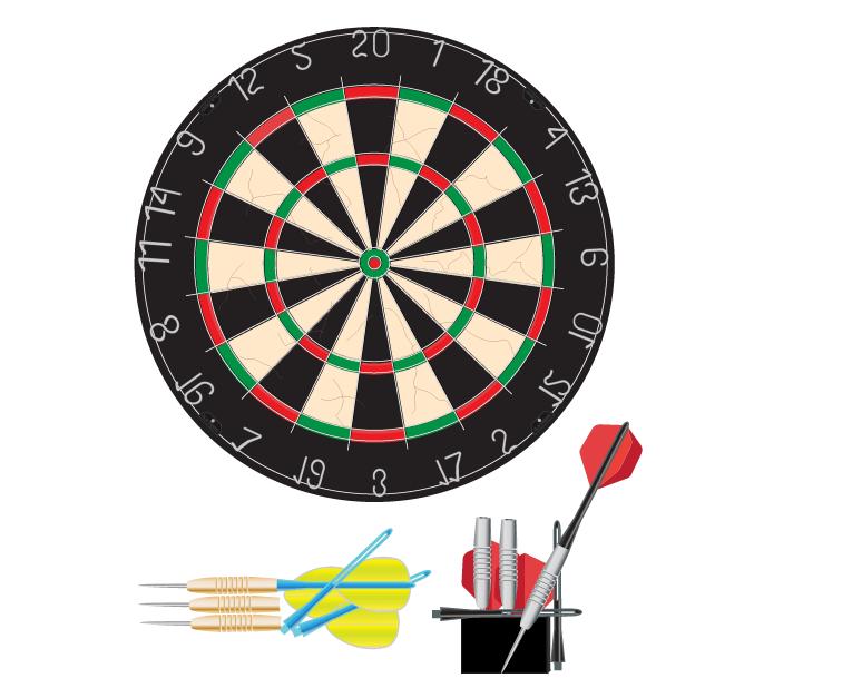 dart board graphic | free download clip art | free clip art | on