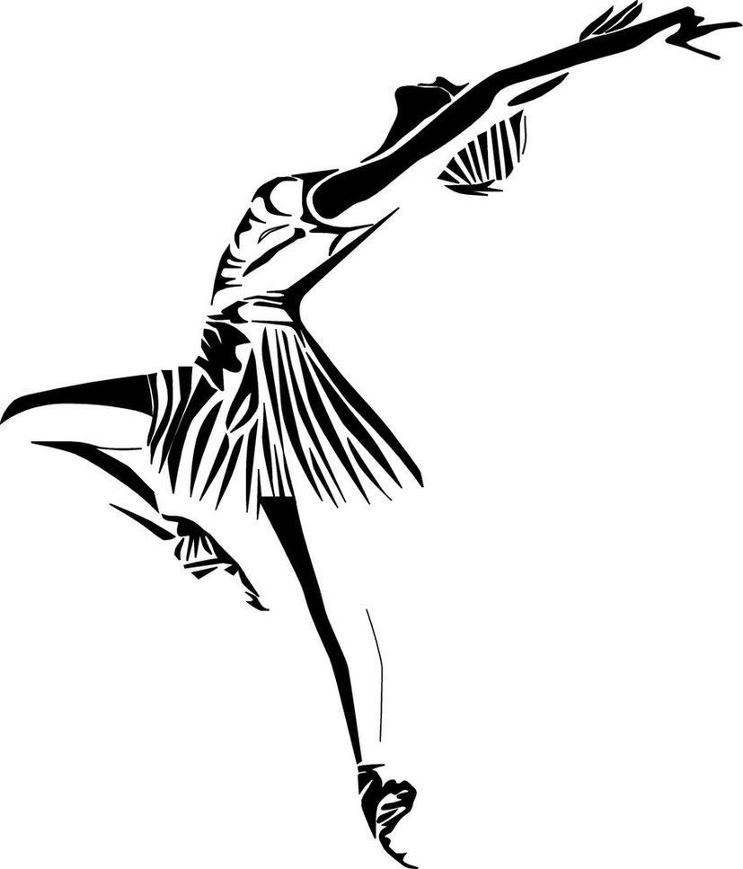 free ballerina zeichnung  download free clip art  free