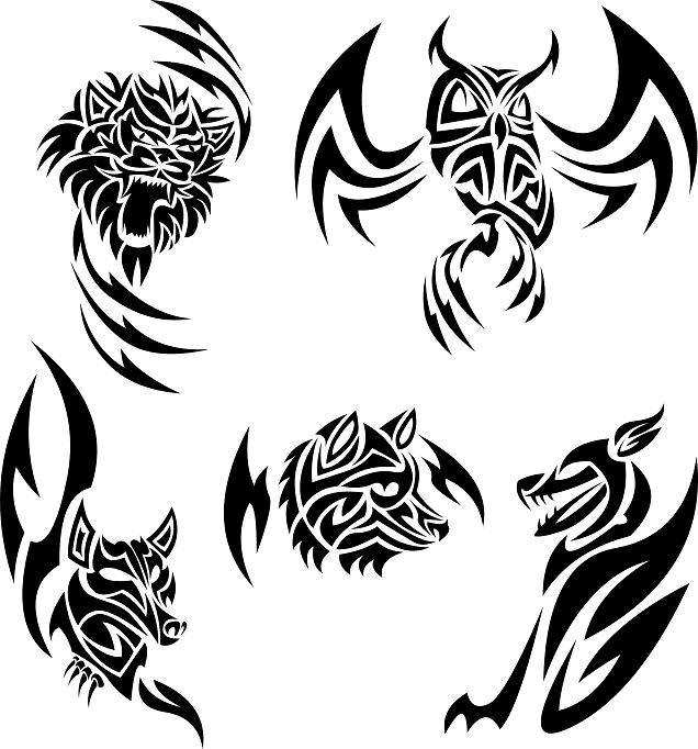Wallpapers Tribal Animals Animal Tattoo 1024x1024: Free Tribal Animal Designs, Download Free Clip Art, Free