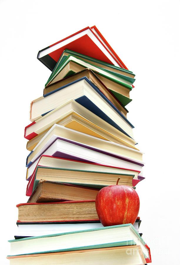 school books clip art black and white