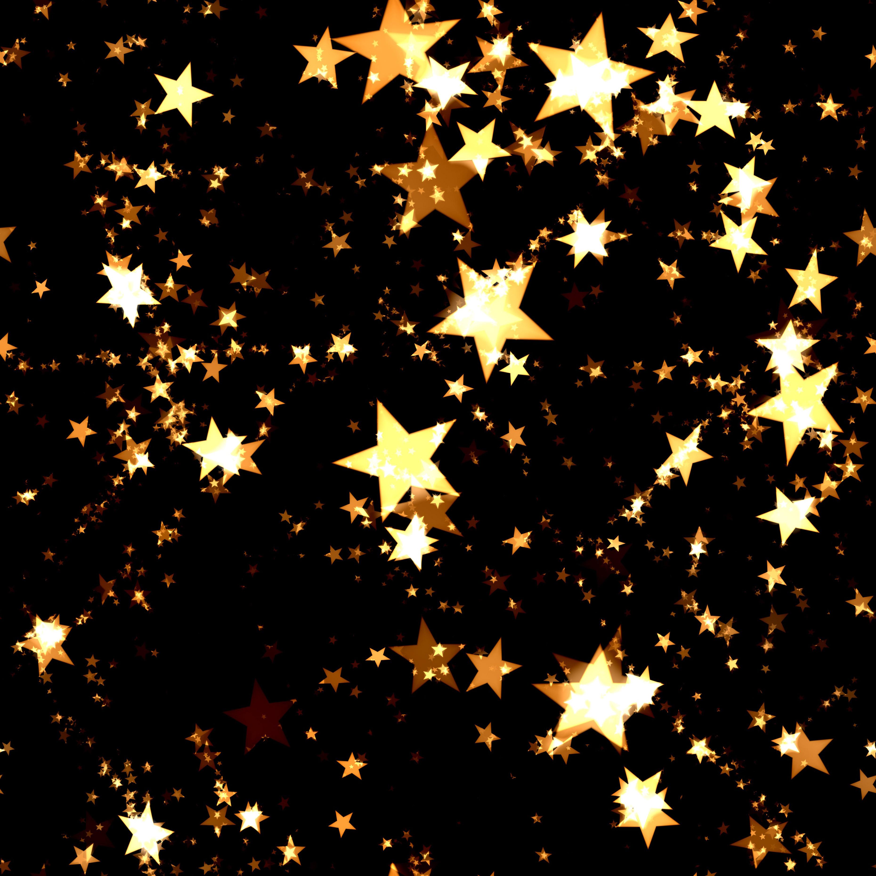 bright gold stars background image wwwmyfreetextures