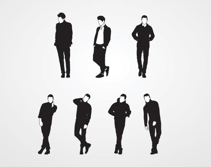 Free Male Silhouette Download Free Clip Art Free Clip