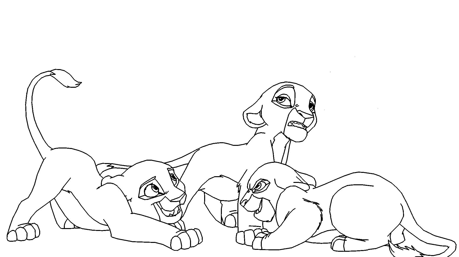 Free Lion King Cubs, Download Free Clip Art, Free Clip Art ...