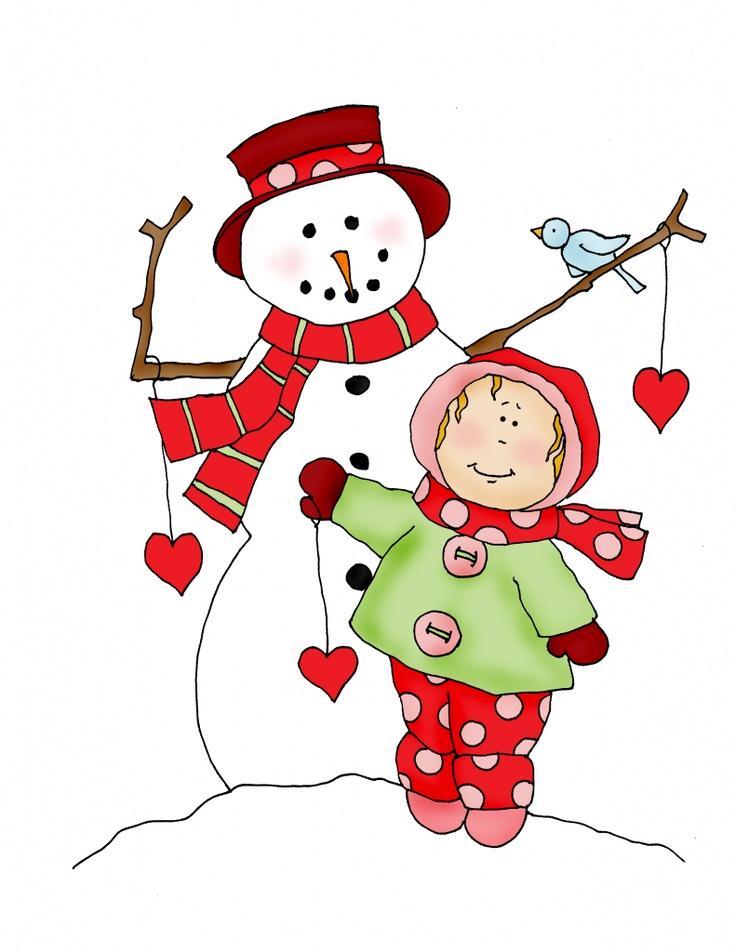 Pin By Paula Jordan Wilson On Snowmen And Women Clipart