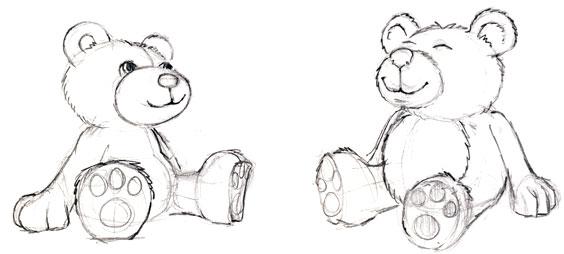 Free Teddy Bear Drawing Download