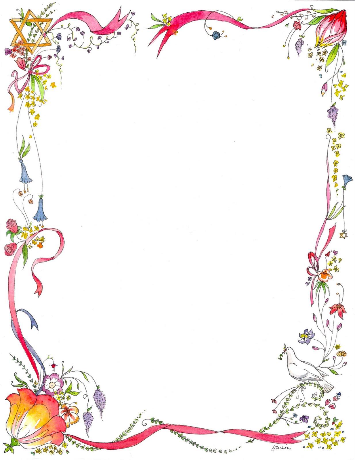 Hd Border Design Image Flowers Desktop Wallpaper Clip Art Library