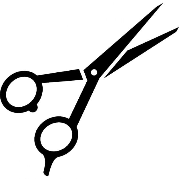 Hair Cutting Scissors Vector 17
