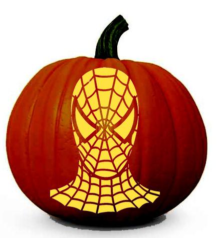 Superhero Pumpkin Patterns PSD