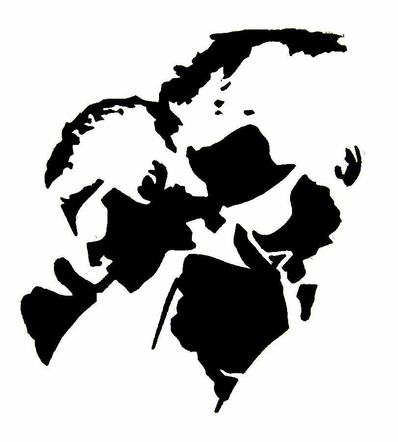 Free Tiger Paw Print Stencil Download Free Clip Art Free