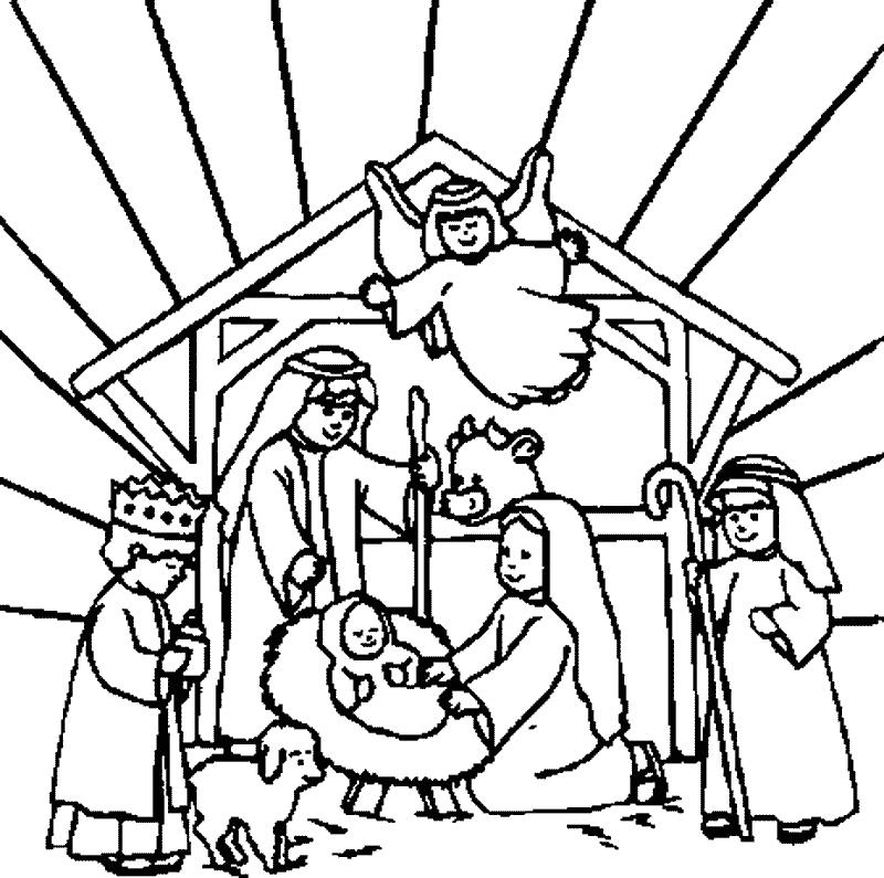Free Picture Of A Nativity Scene, Download Free Clip Art ...
