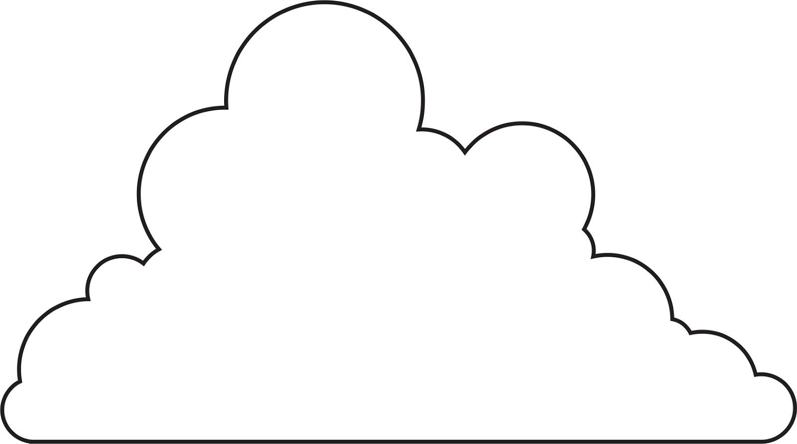 Free Cloud Template, Download Free Clip Art, Free Clip Art ...