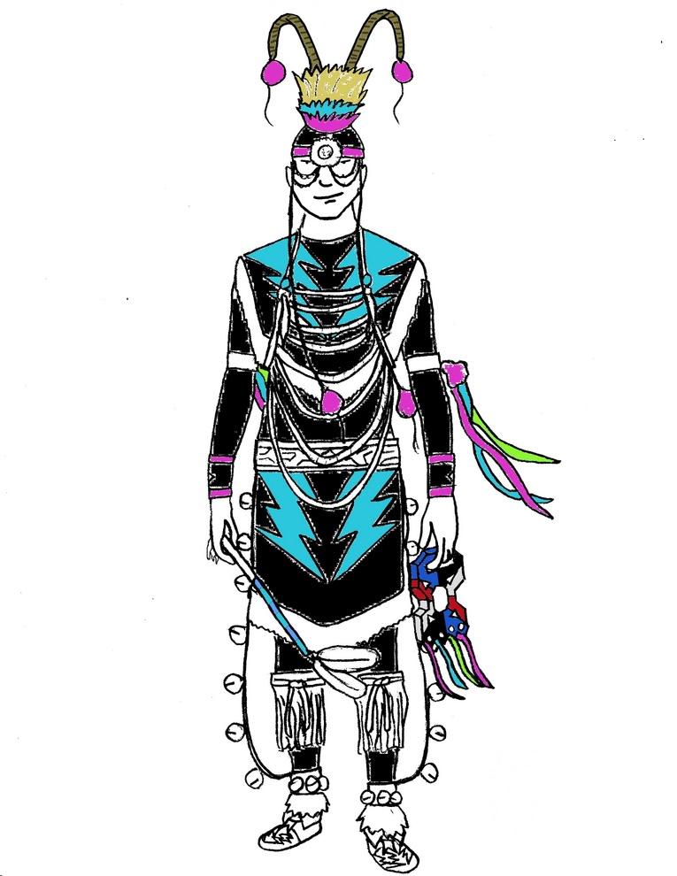 Native Americans Clipart Black And White Free Native American I...