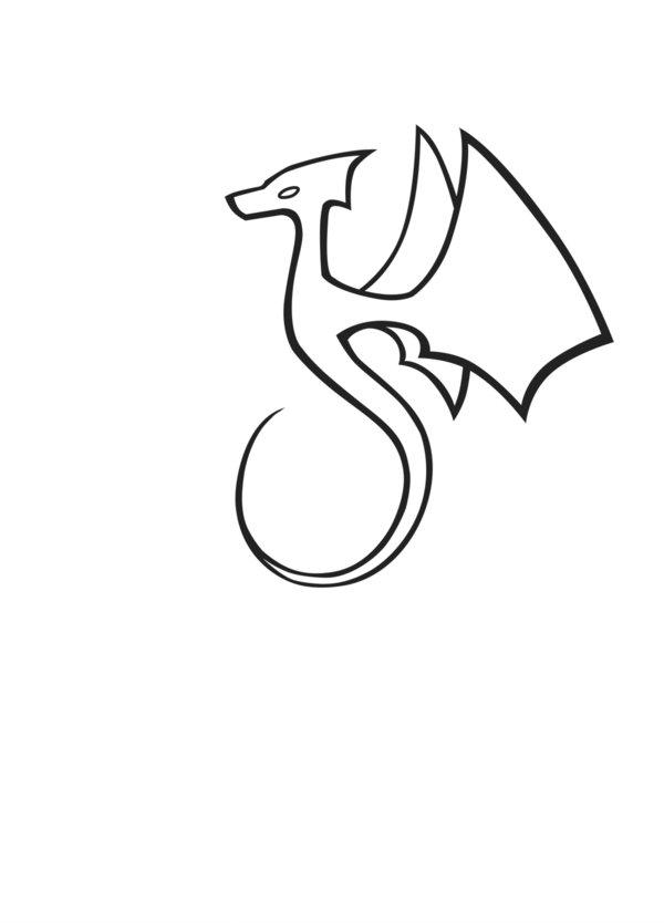 Free Simple Dragon, Download Free Clip Art, Free Clip Art