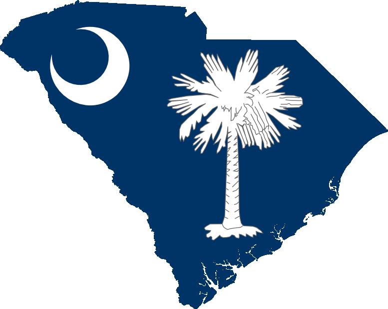 south carolina flag vector   free download clip art   free clip