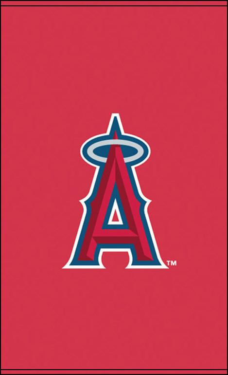 Los Angeles Angels Baseball Window Shades