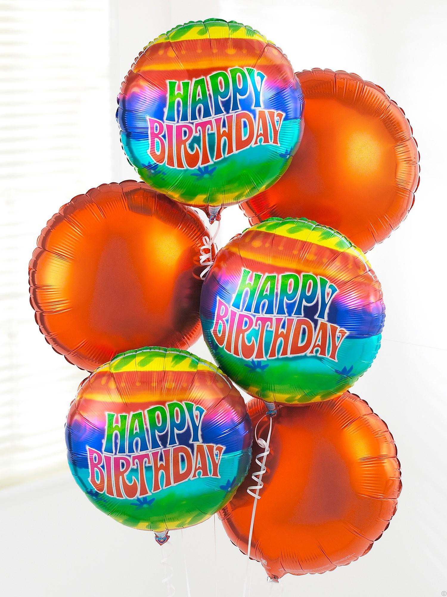happy birthday balloon bouquet. Black Bedroom Furniture Sets. Home Design Ideas