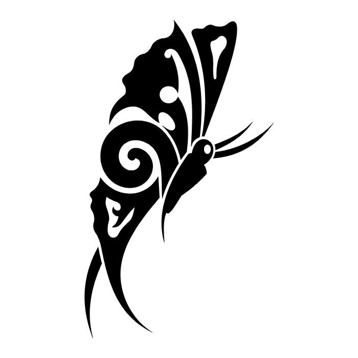 Circular Lizard Stencil