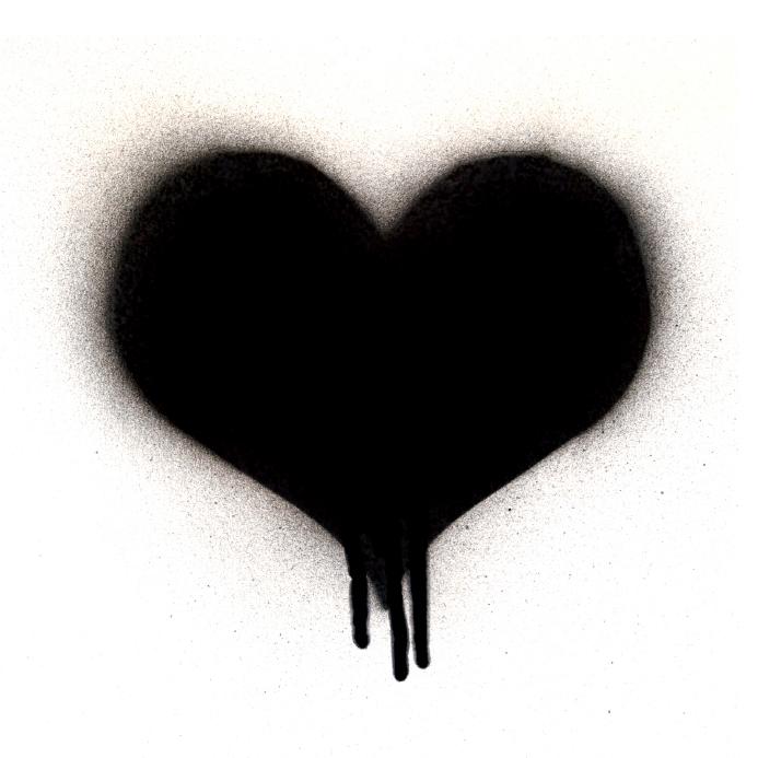 Free Black Heart, Download Free Clip Art, Free Clip Art on ...
