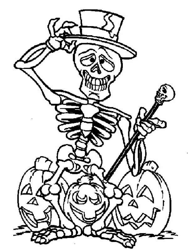 Free Halloween Skeleton Cartoon, Download Free Clip Art ...