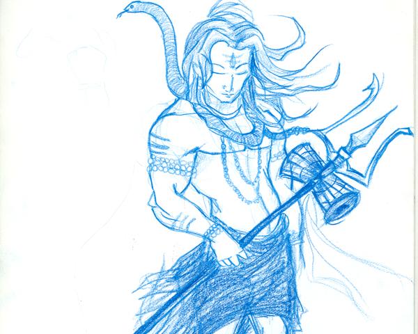 Free Shiva Sketch, Download Free Clip Art, Free Clip Art ...