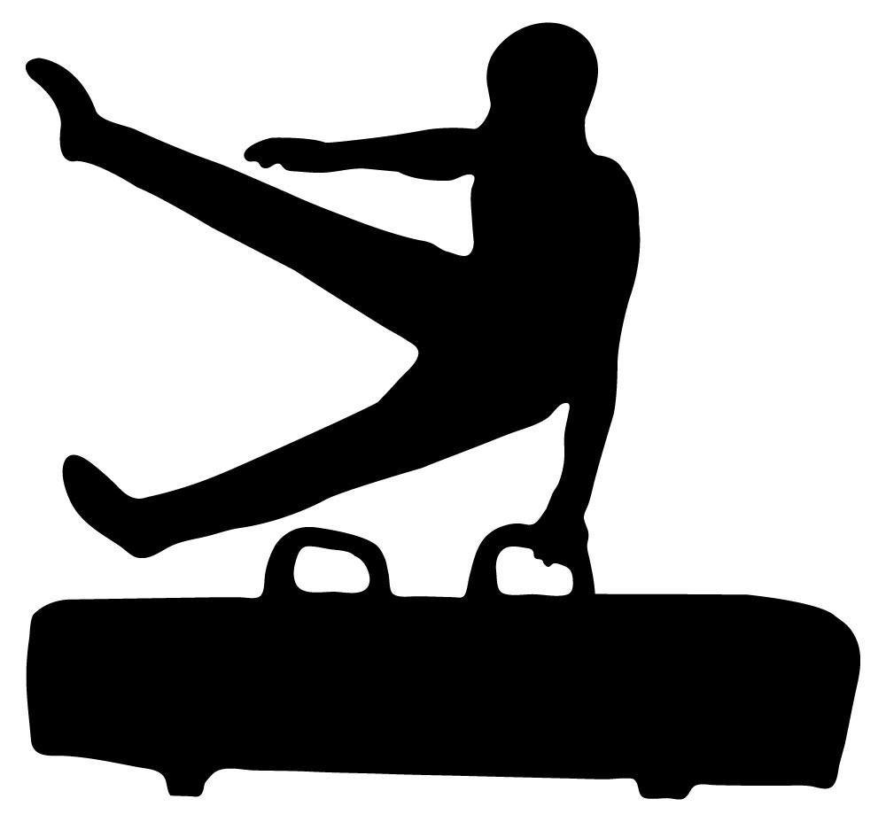 free gymnastics silhouettes transparent download free