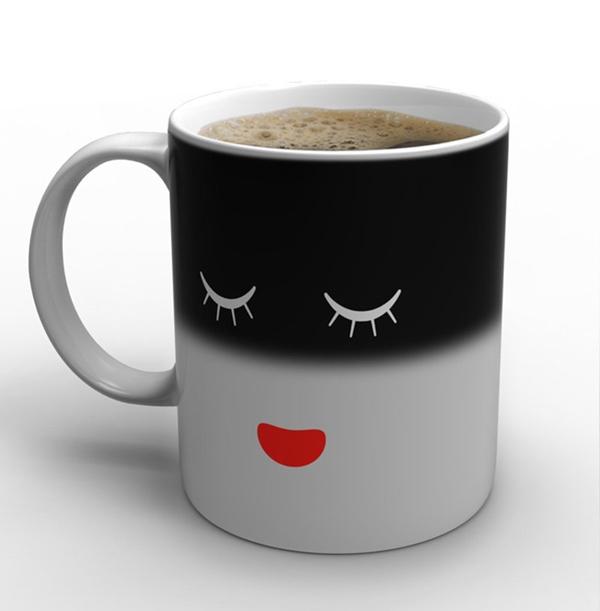 Heat Sensitive Mug Needs Its Coffee In The Morning Enpundit