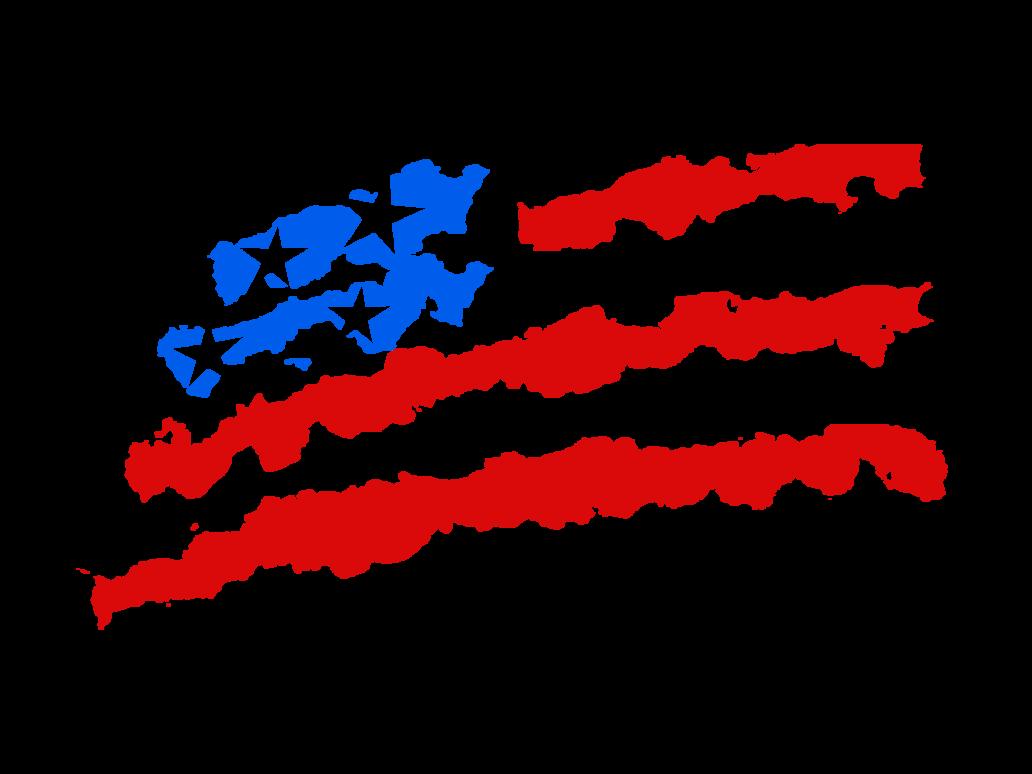 Free Waving American Flag Drawing Download Free Clip Art