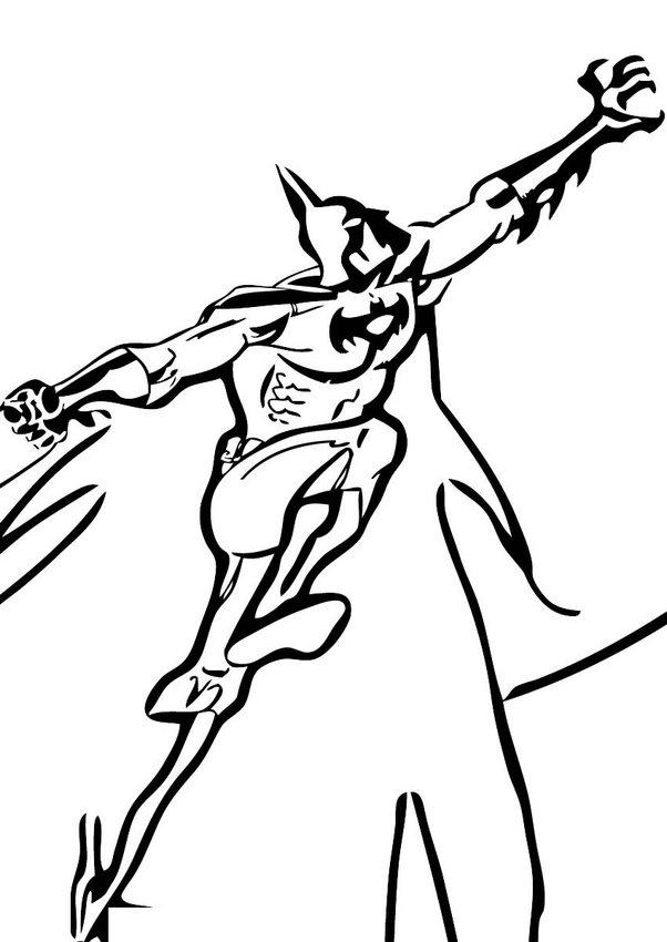 clip art batman coloring pages - photo#40