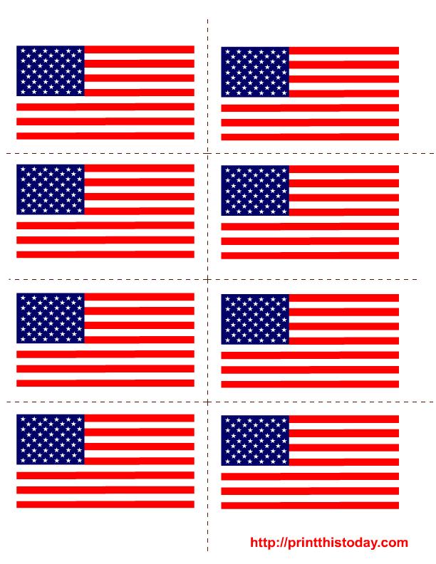 Free American Flag Printable, Download Free Clip Art, Free ...