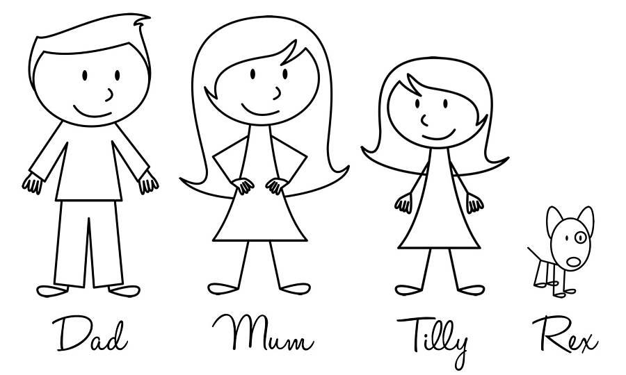 Free Stick Family, Download Free Clip Art, Free Clip Art ...